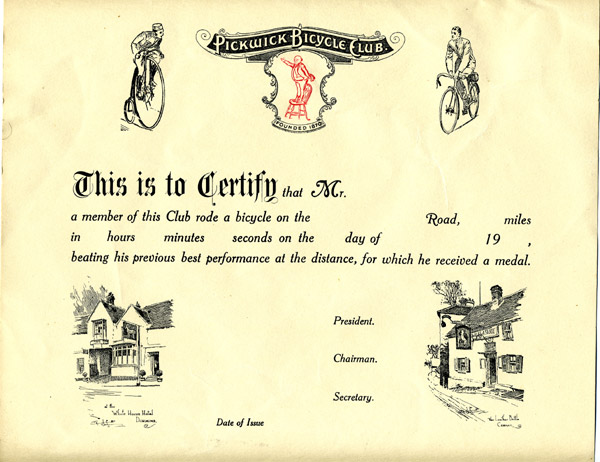 Performance Certificate